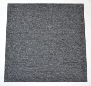 DIY Carpet Tile Squares - Charcoal Gray - 72 SF Per Box -18 Pieces Per Box