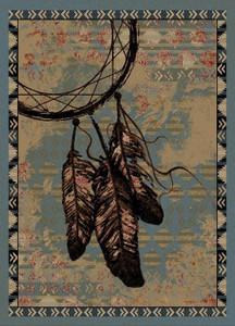 "Dean Sedona Lodge Cabin Southwestern Ranch Area Rug 7'10"" x 9'10"" (8x10)"