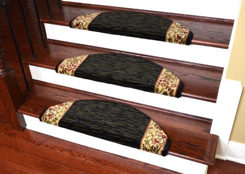 Captivating Dean Non Slip Tape Free Pet Friendly Stair Gripper Bullnose Carpet Stair  Treads   Talas