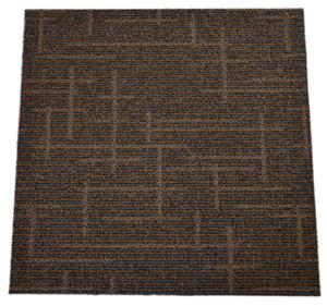 Dean DIY Carpet Tile Squares - Mocha Moxie Pizzazz - 48 SF Per Box -12 Pieces Per Box
