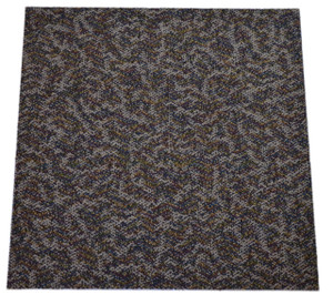 Dean DIY Carpet Tile Squares - Riverbank Blend - 48 SF Per Box -12 Pieces Per Box