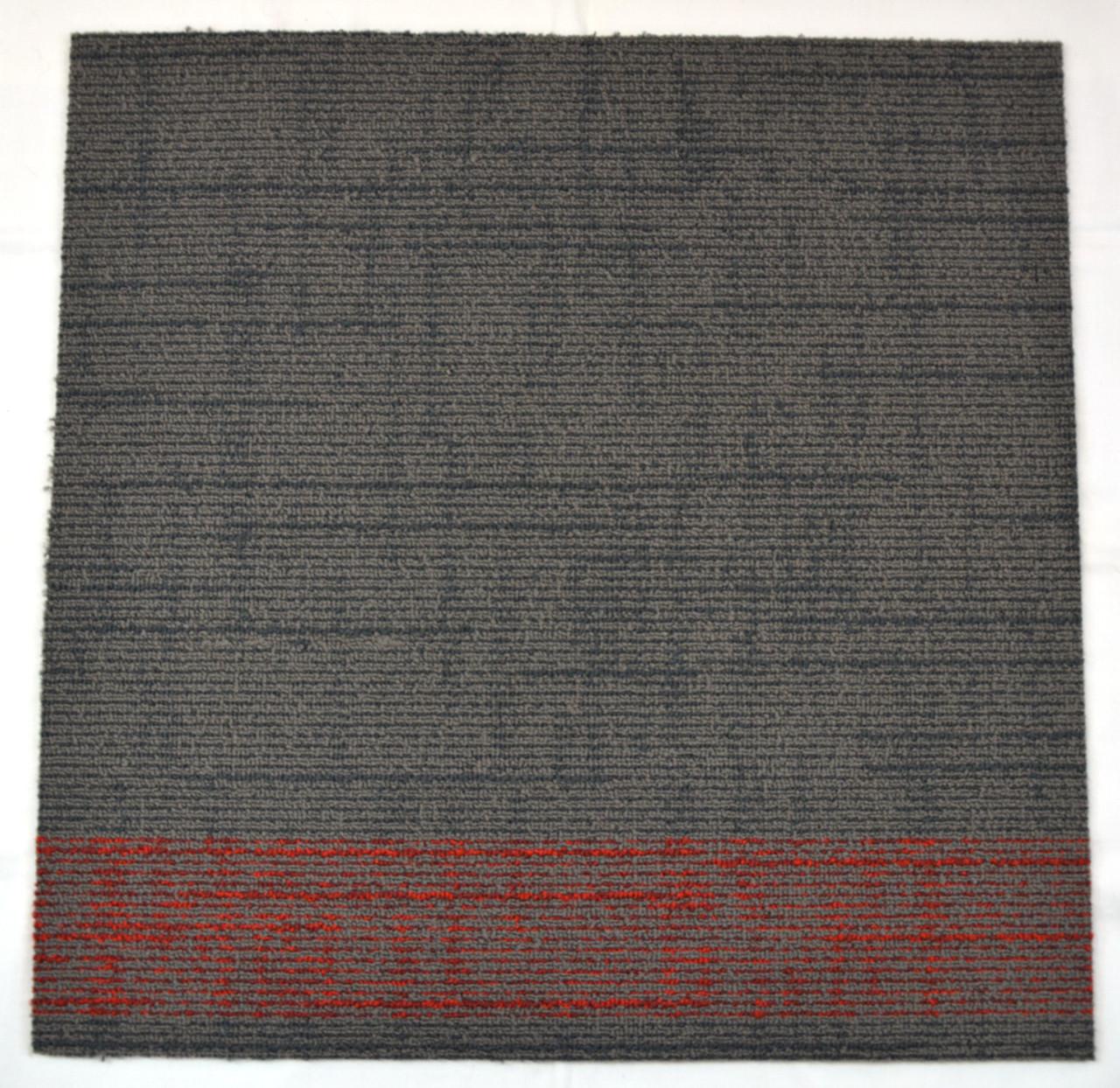Dean Diy Carpet Tile Squares Gray Amp Red Patterned 48