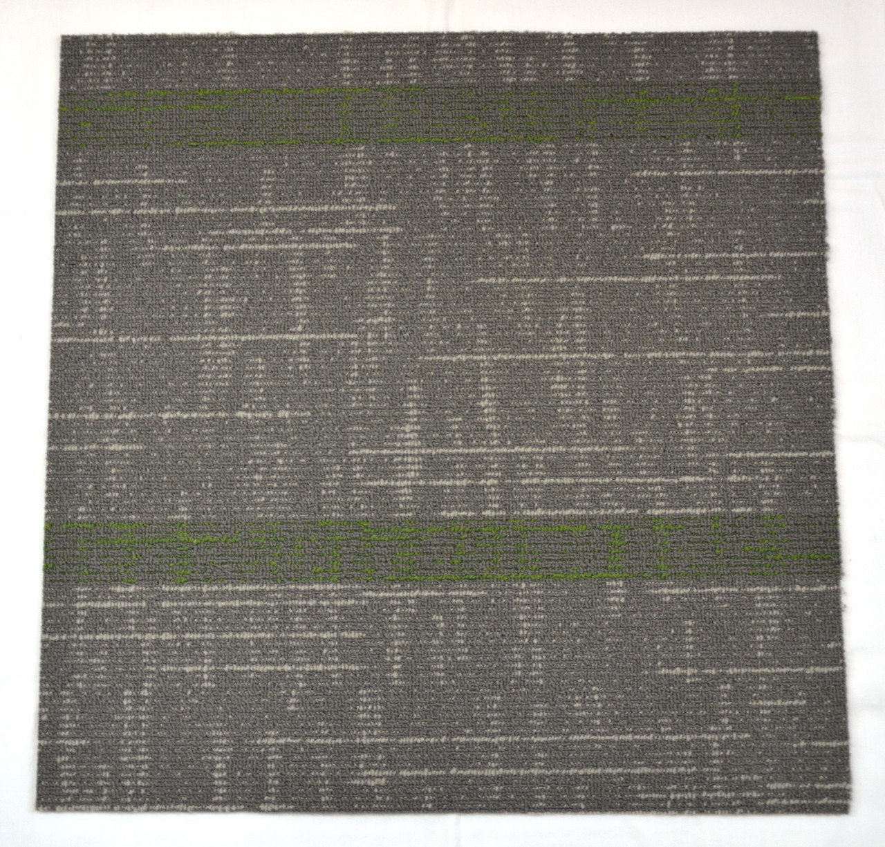 Dean Diy Carpet Tile Squares Gray Amp Green Patterned 48