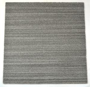 Dean DIY Carpet Tile Squares - Soft Gray Cut Pile - 48 SF Per Box -12 Pieces Per Box