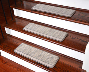 dean tape free pet friendly ultra premium wool nonslip stair gripper carpet stair treads - Non Slip Stair Treads