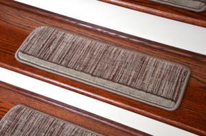 Dean Tape Free Pet Friendly Ultra Premium Wool Non Slip Stair Gripper  Carpet Stair Treads