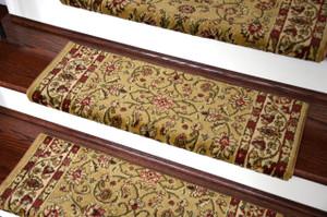 Dean Non Slip Tape Free Pet Friendly Stair Gripper Bullnose Carpet Stair  Treads   Classic