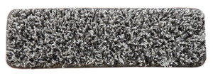 "Dean Premium Stair Gripper Tape Free Non-Slip Pet Friendly DIY Carpet Stair Treads 30""x9"" (15) - Metal Gray Shag"