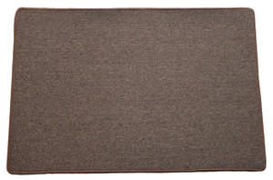 Dean Urban Legend Brown Washable Non-Slip Carpet 2 Foot by 3 Foot Kitchen/Bath/Door Mat/Landing Rug