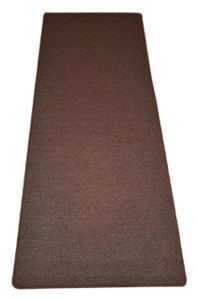 Dean Urban Legend Brown Washable Non-Slip Carpet 27 Inch by 6 Foot Kitchen/Bath/Door Mat/Landing Runner Rug