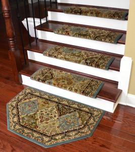 Dean Non Slip Tape Free Pet Friendly Stair Gripper Bullnose Carpet Stair  Treads   Panel