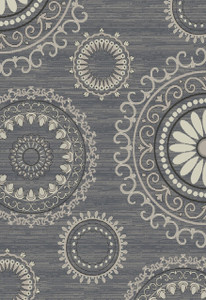 "Dean Stratford Kaleidoscope Gray Area Rug 5'3"" x 7'7"" (5x8)"