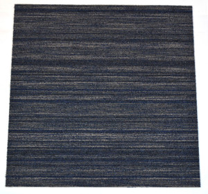 "Dean Carpet Tile Squares - Clever Intellect Blue & Gray - 24"" x 24"" Box of 20 (80 sf)"