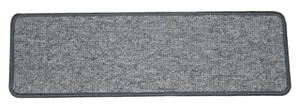 Dean Tape Free Pet Friendly Premium Non-Slip Stair Gripper Carpet Stair Treads - Dakota Fossil Gray (Set of 15) 30 Inches by 9 Inches Each