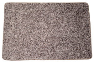 Dean Fresh Coffee Brown Washable Non-Slip Carpet 2 Foot by 3 Foot Kitchen/Bath/Door Mat/Landing Rug