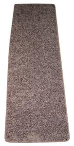 Dean Fresh Coffee Brown Washable Non-Slip Carpet 27 Inch by 6 Foot Kitchen/Bath/Door Mat/Landing Runner Rug