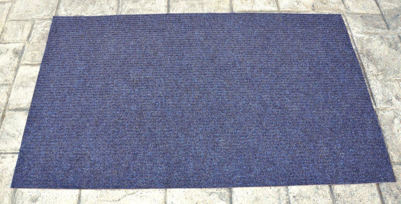 Dean Indoor Outdoor Walk Off Entrance Door Mat Blue 3 X 5