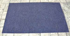 Dean Indoor/Outdoor Walk-Off Entrance Door Mat Blue 3' x 5'