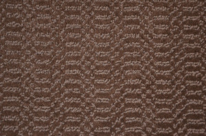 Luxor Brown Plush 5' x 7' Serged Carpet Area Rug
