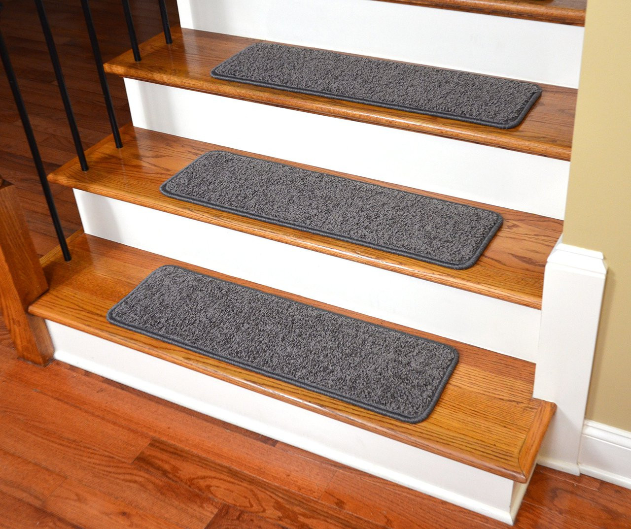 Premium Stair Gripper Pet Friendly Stair Tread in Gray