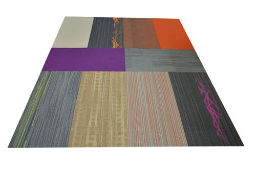 Carpet Tiles - Assorted Colors