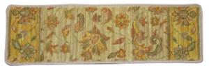 """Dean Premium Non-Skid Wool Carpet Stair Treads/Runner Rugs - Renaissance Estate Beige 30"""" x 9"""" Set of 15"""