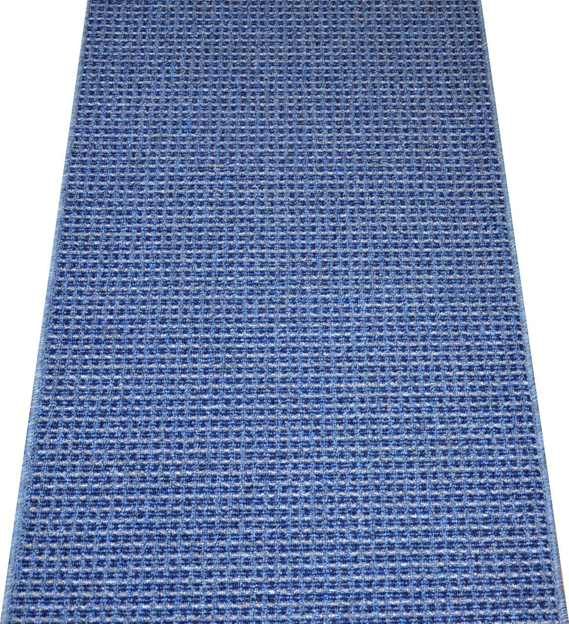 Washable Non Skid Carpet Rug Runner Michelle Blue 5