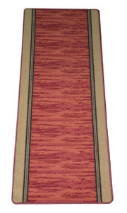 Washable Non-Skid Carpet Rug Runner - Boxer Terra Cotta (5')