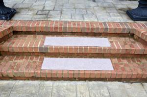 "Dean Indoor/Outdoor Non Skid Carpet Stair Treads - Color: Beige 36"" x 9"" (4)"