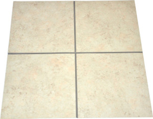 Affordable DIY Grouted Luxury Vinyl Laminate Floor Tile (LVT) - Treadstone Natural - 36 SF/Box