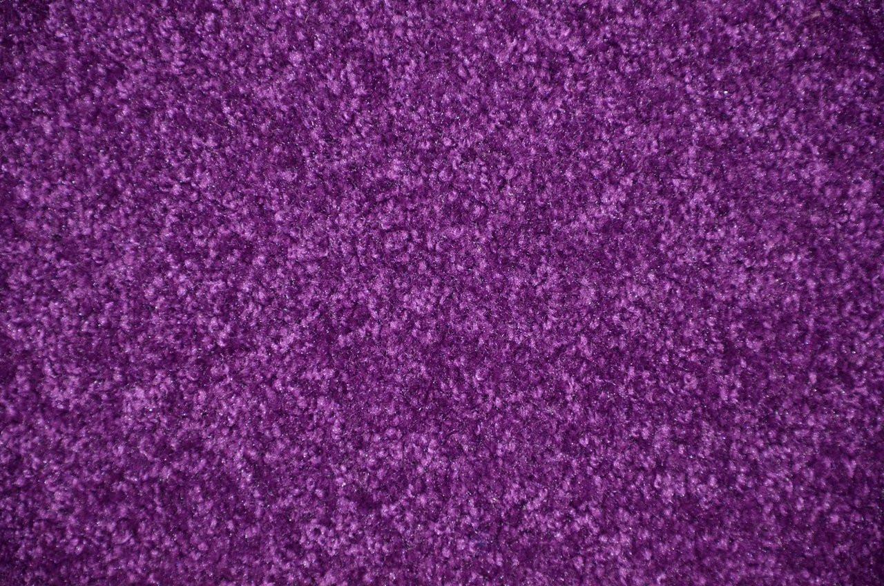 Grape Purple 6 X 8 Plush Bound Carpet Area Rug