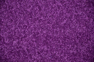 Grape Purple Plush 6' x 8' Bound Carpet Area Rug