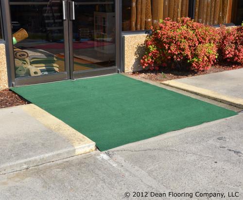Golf Course Green Outdoor Rug