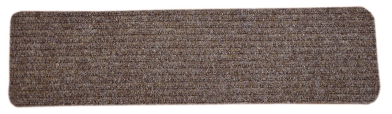 Dean Ribbed Indoor Outdoor Nonskid Carpet Stair Treads