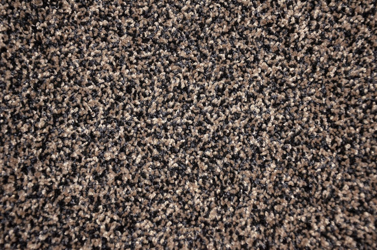 Dean Tweed Plush Black Amp Beige Area Rug 5 X 7
