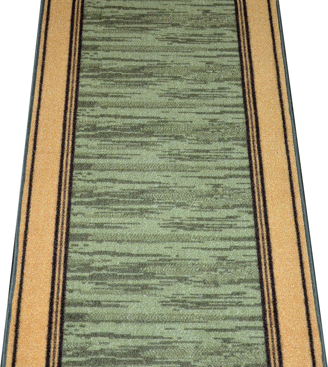 Washable Non Skid Carpet Rug Runner Boxer Green 5