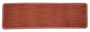"""Dean Premium Non-Skid Carpet Stair Treads - Velvet Red Rug Runners 30"""" x 9"""" (Set of 15)"""