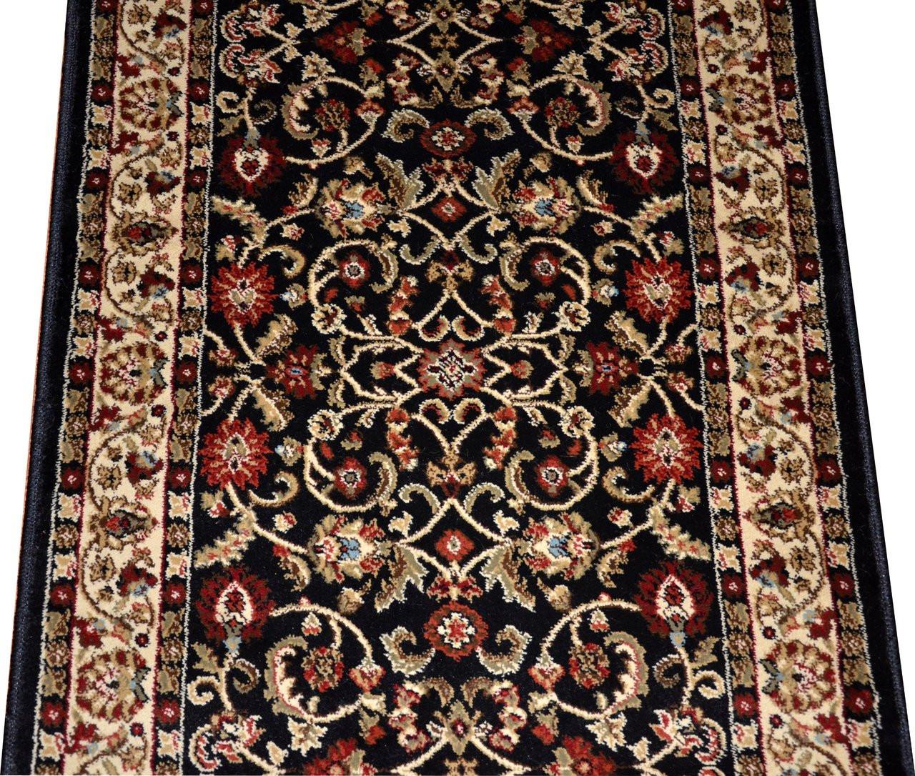 Dean Classic Keshan Ebony Custom Length Carpet Rug Runner