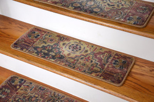 Premium Carpet Stair Treads - Multicolor Panel (13)