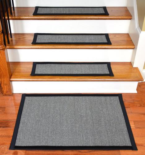 Dean Non Slip Tape Free Pet Friendly Stair Gripper Natural Fiber Sisal  Carpet Stair Treads