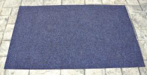 Dean Indoor/Outdoor Walk-Off Entrance Door Mat Blue 4' x 6'