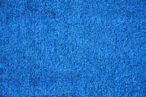 Dean Indoor/Outdoor Marina Blue Artificial Grass Turf Area Rug 12'x12'