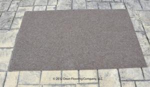 Dean Indoor/Outdoor Walk Off Entrance Door Mat/Rug   Beige Sand