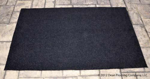 Dean 3 X 5 Indoor Outdoor Black Carpet Door Mat Rug