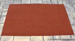 Merveilleux Dean Indoor/Outdoor Walk Off Entrance Carpet Door Mat/Rug   Terra Cotta