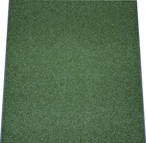 Dean Premium Heavy Duty Indoor/Outdoor Oasis Green Artificial Grass Performance Turf Carpet Runner Rug/Putting Green/Golf/Sports/Dog Mat, Size: 3' x 6' with Bound Edges