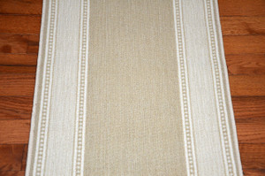 Dean Arden Champagne Nylon Carpet Rug Runner - Purchase by the Linear Foot