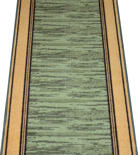 Dean Washable Carpet Rug Runner Boxer Green Purchase By The Linear Foot