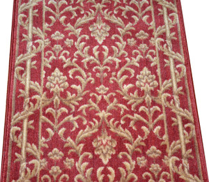 Dean Baroque Spice Carpet Rug Hallway Stair Runner - Purchase by the Linear Foot