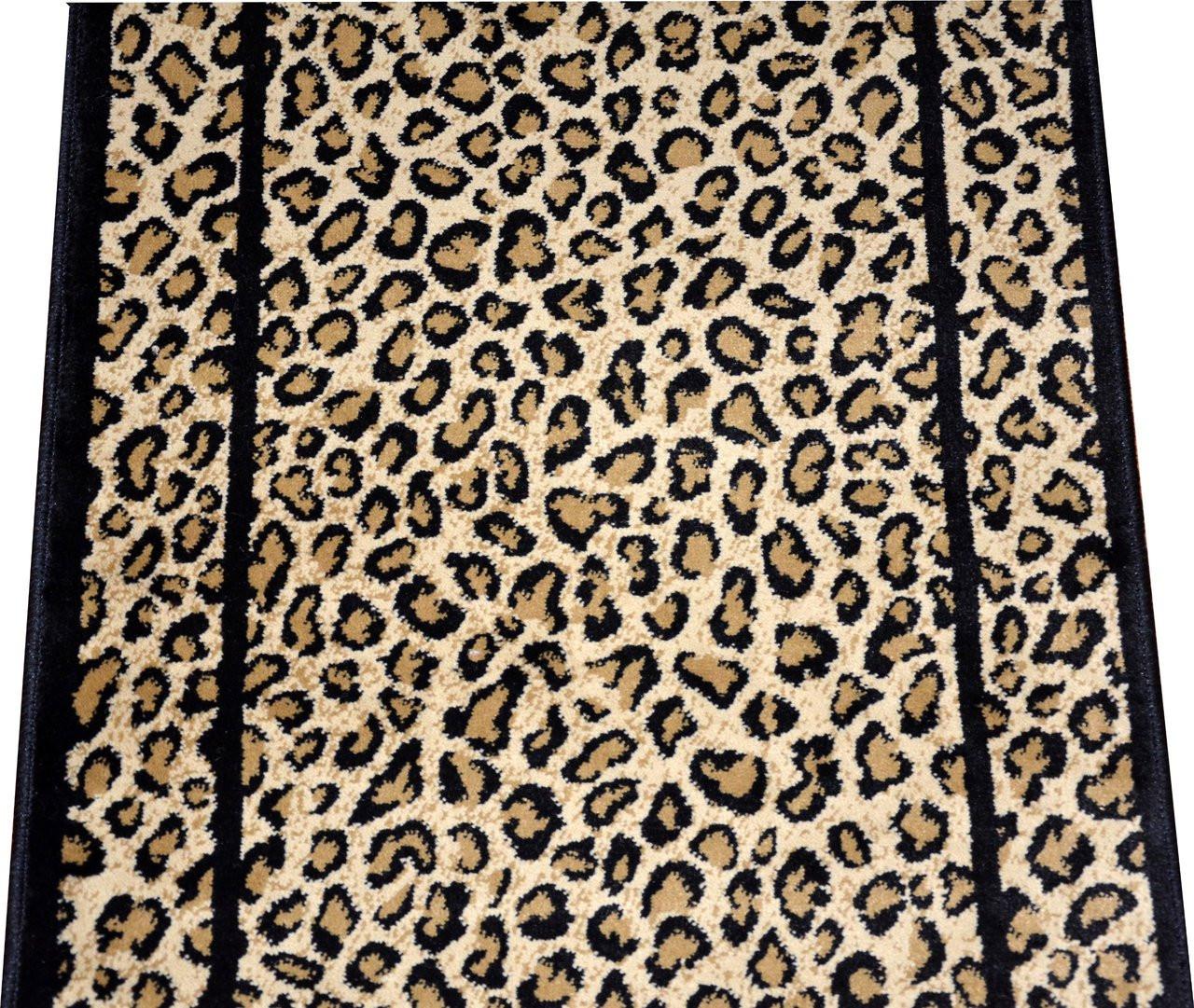 Dean Cheetah Carpet Rug Hallway Stair Runner